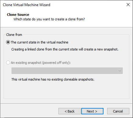 Clonando uma máquina Virtual no VMware Workstation – Full Clone
