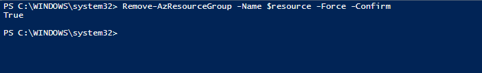 Removendo Lock do Resource Group via Powershell Az